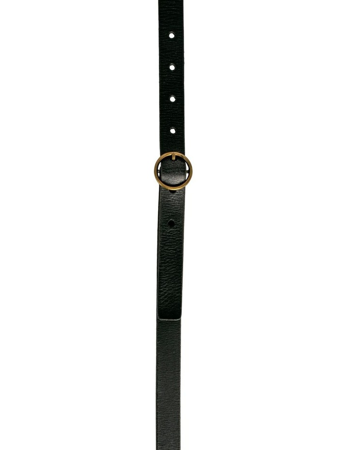 Monroe Black Leather Belt image 1