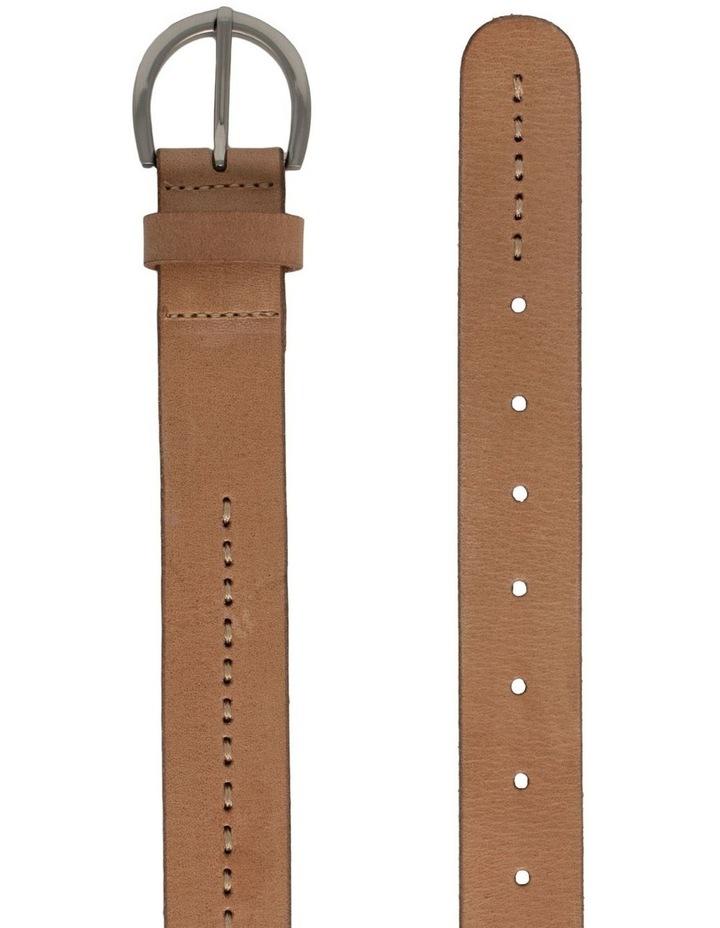 Fitzroy Lane Natural Leather Belt image 3