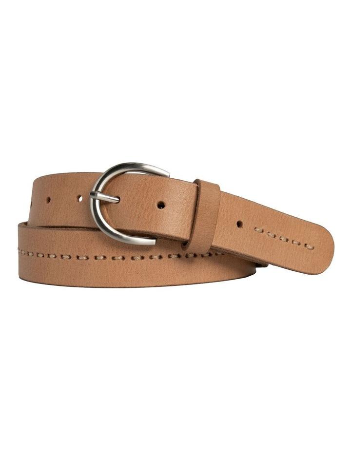 Fitzroy Lane Natural Leather Belt image 5