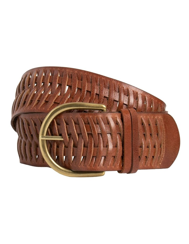 Loop Matilda Dark Tan Leather Belt image 3