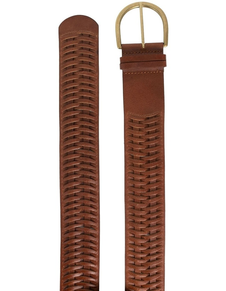 Loop Matilda Dark Tan Leather Belt image 4