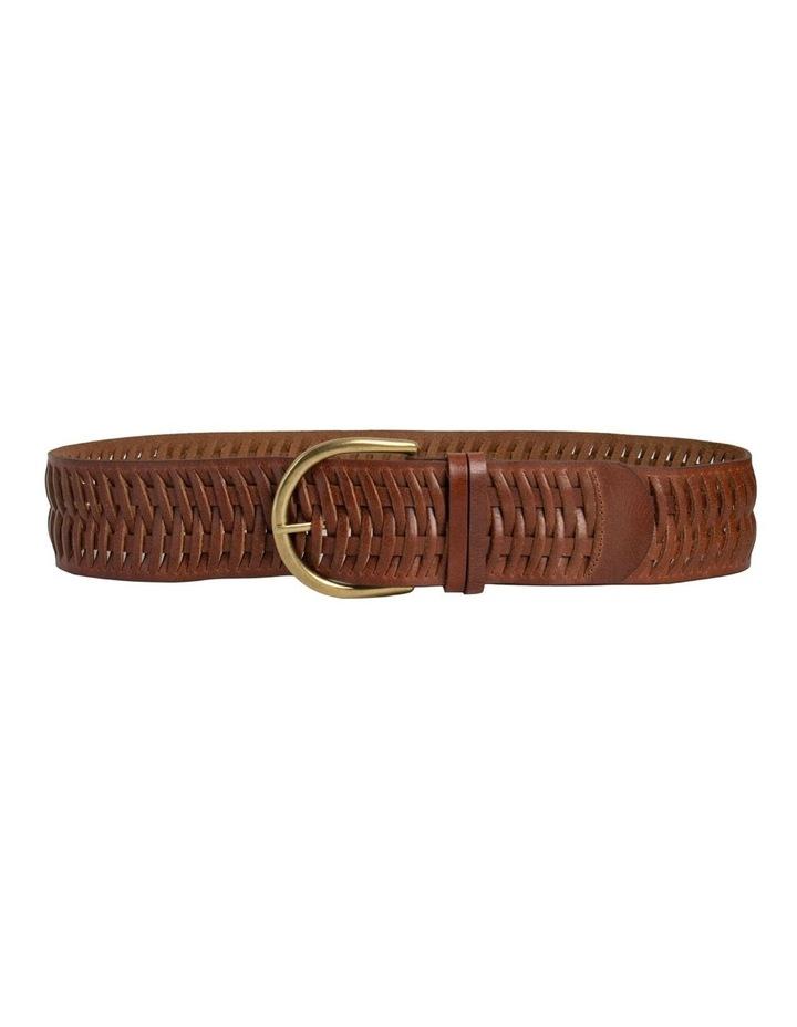 Loop Matilda Dark Tan Leather Belt image 5