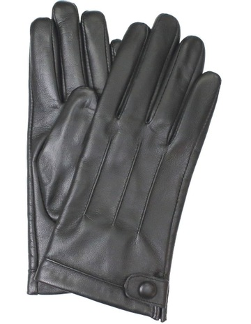 160f4ef35c9e3 DentsLeather Gloves with Stitch Detail and Stud Button Trim. Dents Leather  Gloves with Stitch Detail and Stud Button Trim