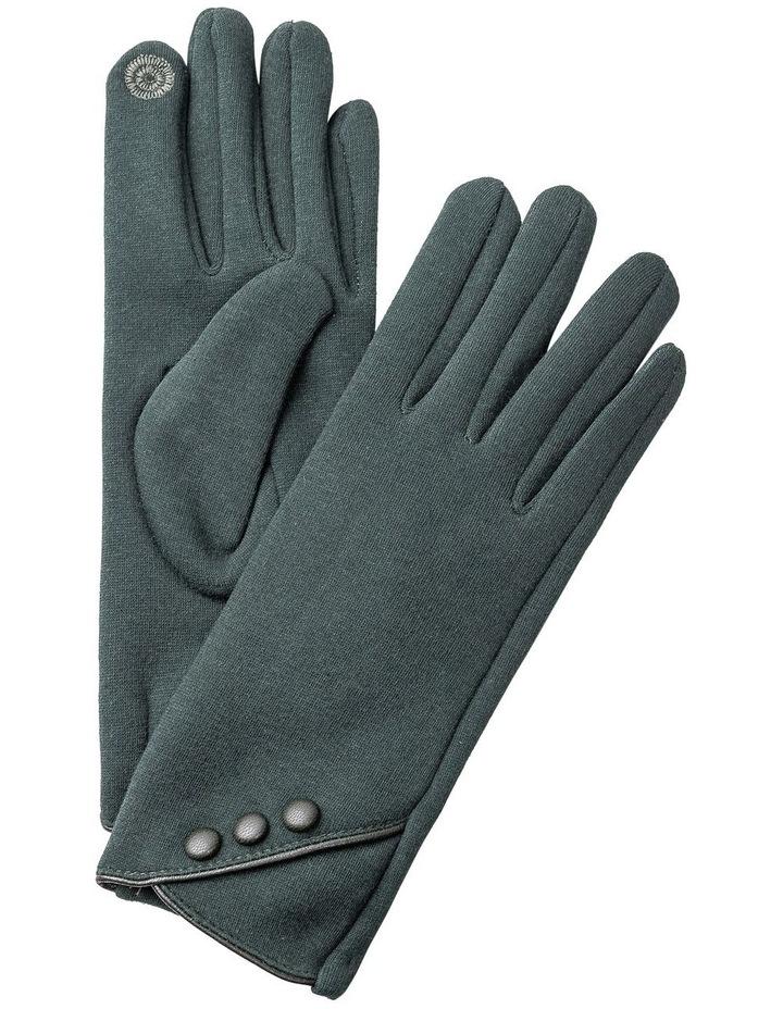 GGVQ008M Ponte Three Button Gloves image 1
