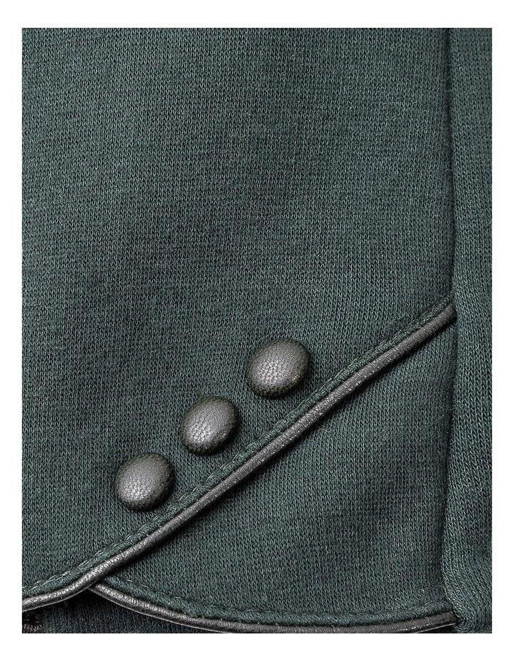 GGVQ008M Ponte Three Button Gloves image 2