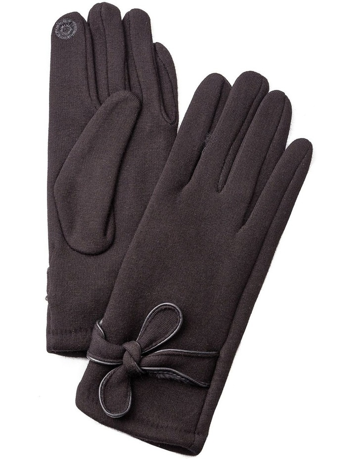 GGVQ010M Ponte Bow Detail Gloves image 1