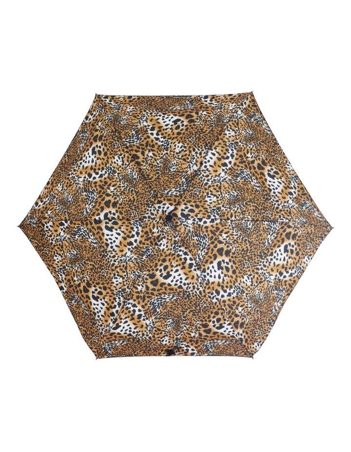 Featherlite Auto Mini, Pencil Slim, Aluminium Frame, Black Handle Umbrella image 1