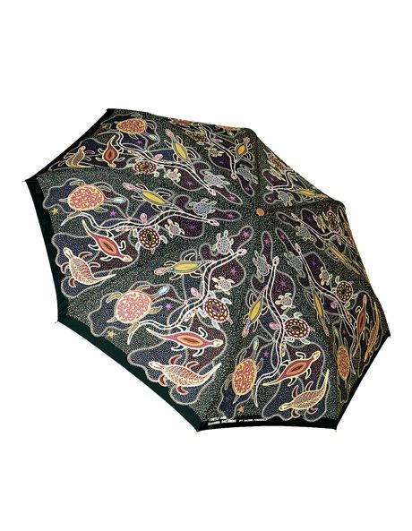 Churinga print mini umbrella image 1