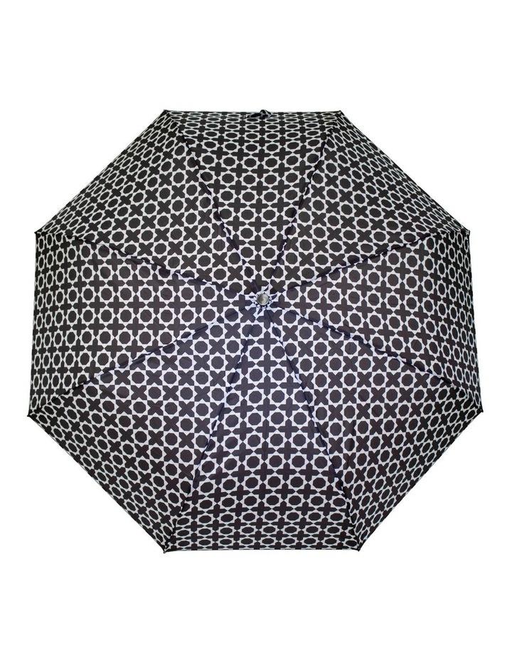 Geometric Print Navy Umbrella 3551 image 1