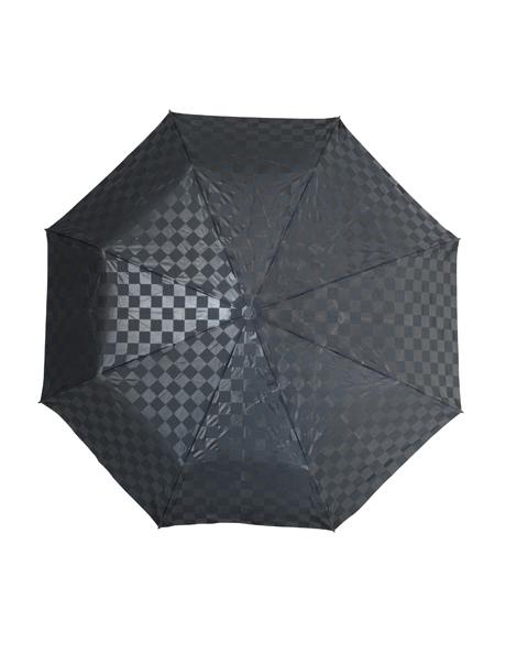 Checkerboard print umbrella image 1