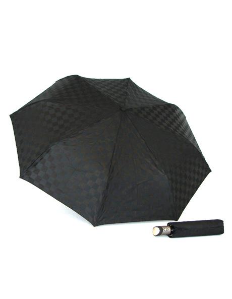 Checkerboard print umbrella image 2
