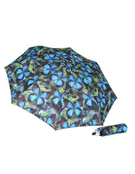 Ulysses butterflies print umbrella image 1