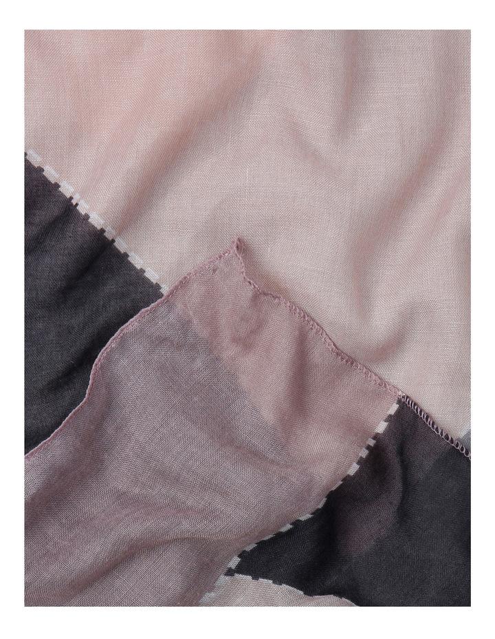 Stitched Block Scarf GLA-547 image 2