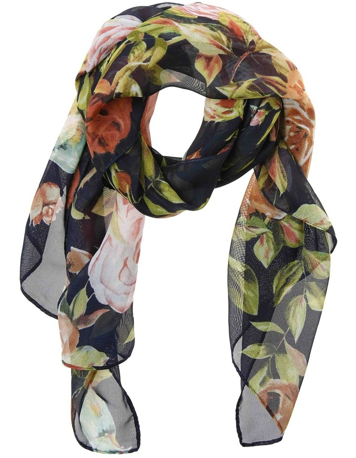 Traditional Rose Scarf GLA-649M image 1