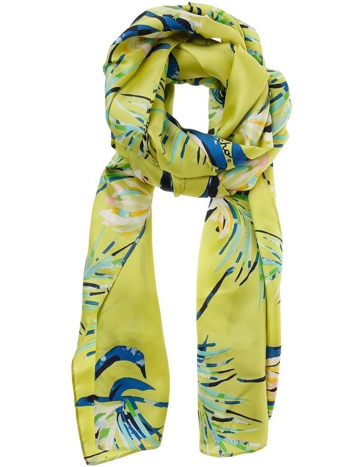 Palm Leaf Silk Scarf image 1