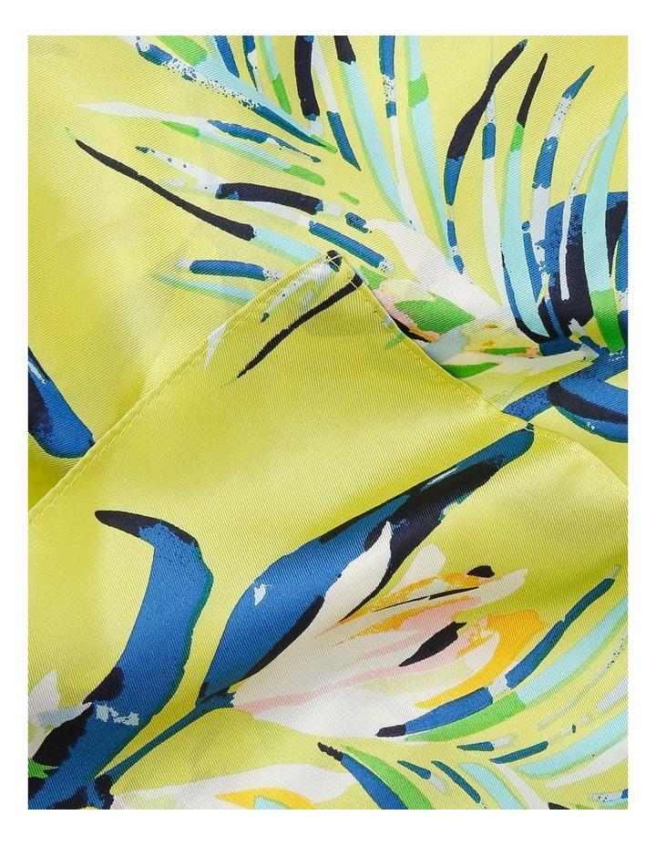 Palm Leaf Silk Scarf image 2