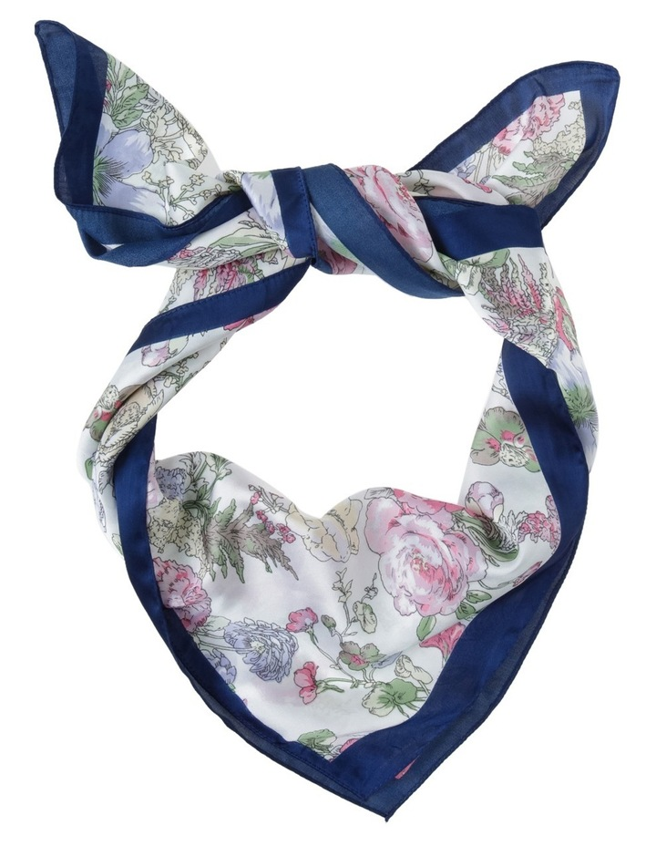 Floral Kerchief With Boarder image 1