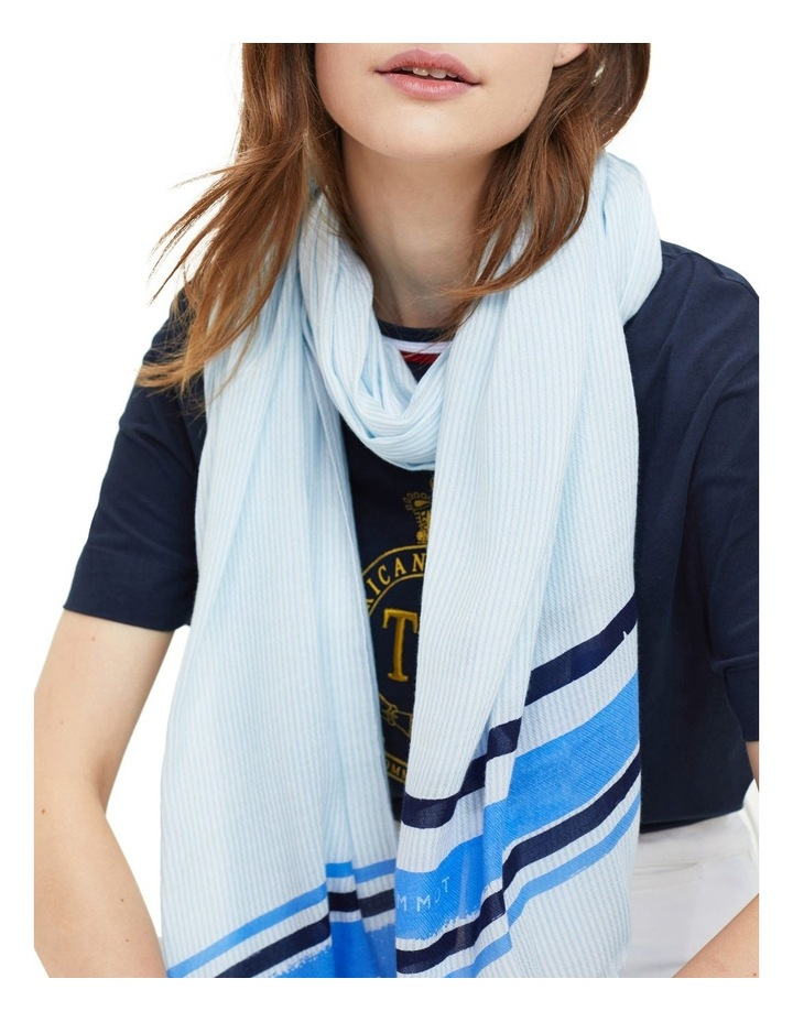 Colored Stripe Scarf image 2