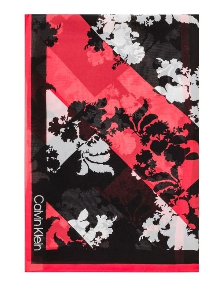 Spliced Floral Square Scarf image 1