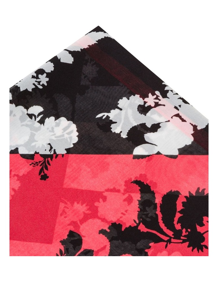 Spliced Floral Square Scarf image 2