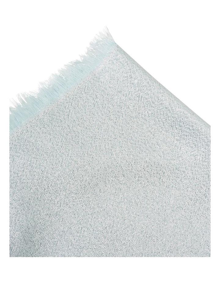 Lightweight Lurex Plaited Scarf image 2