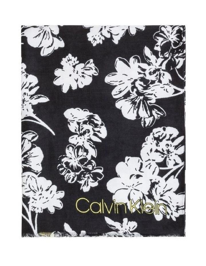 Colorblock Floral Pashmina Scarf image 1