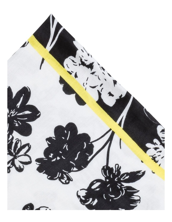 Colorblock Floral Pashmina Scarf image 2