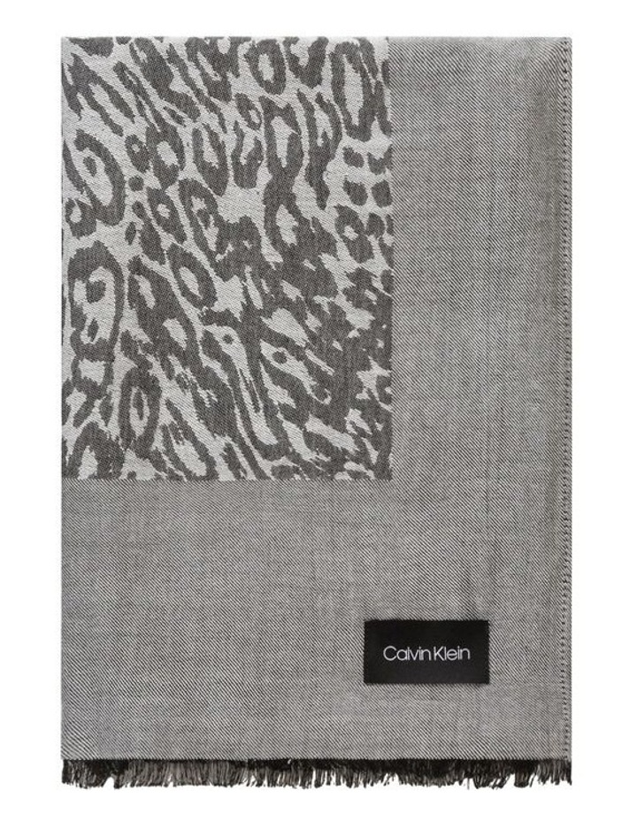 Leopard Chambray Scarf image 1