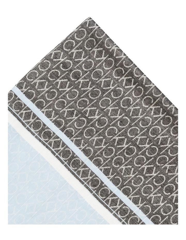 Logo Stripe Woven Scarf image 2