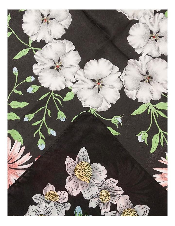 Floral Border Neckerchief Scarf image 2