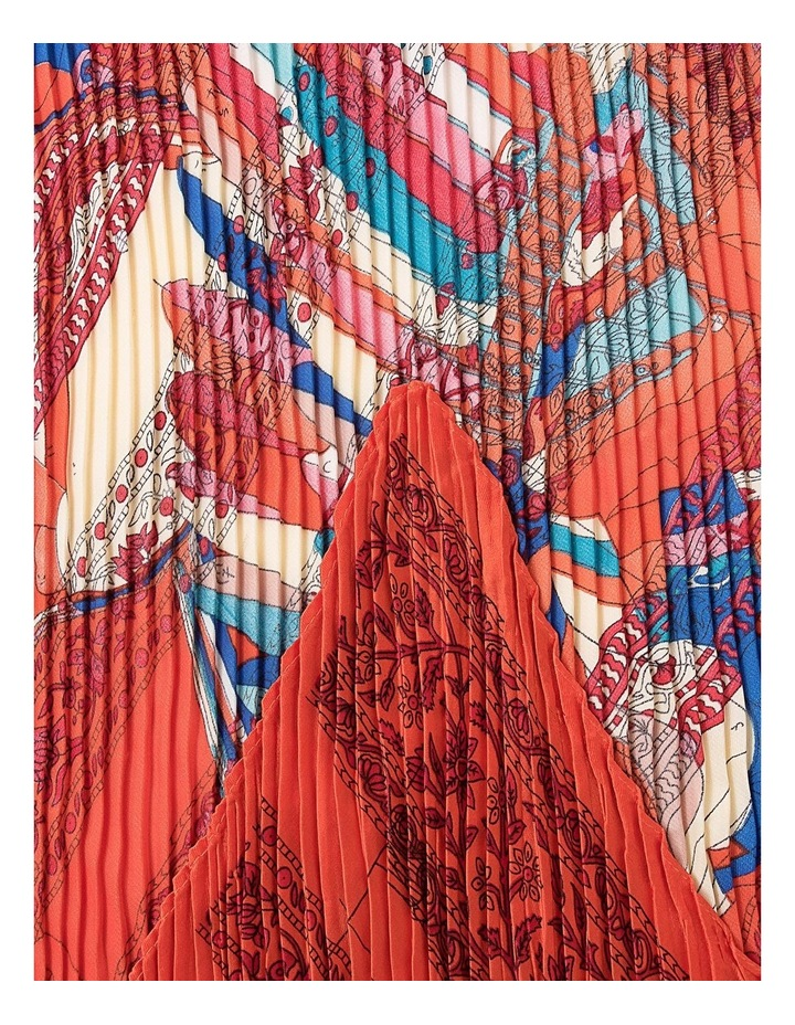 Pleated Pegasus Neckerchief Scarf image 2