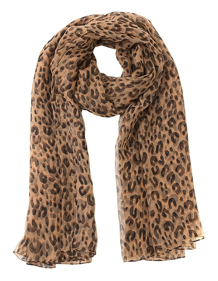 Animal Print Scarf image 1