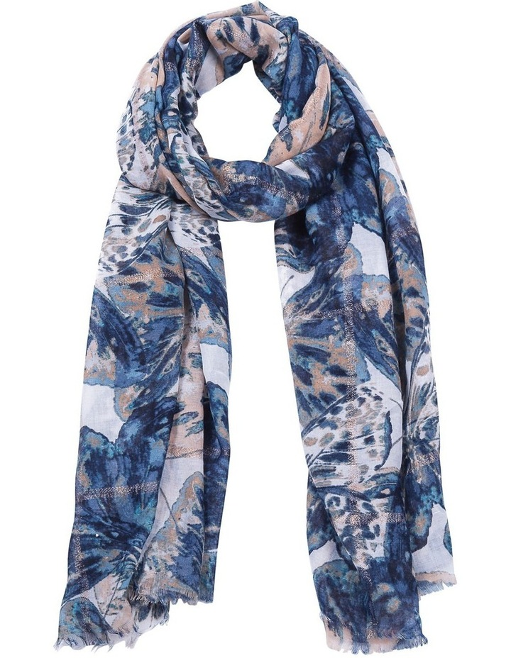 Lurex Butterfly Scarf image 1