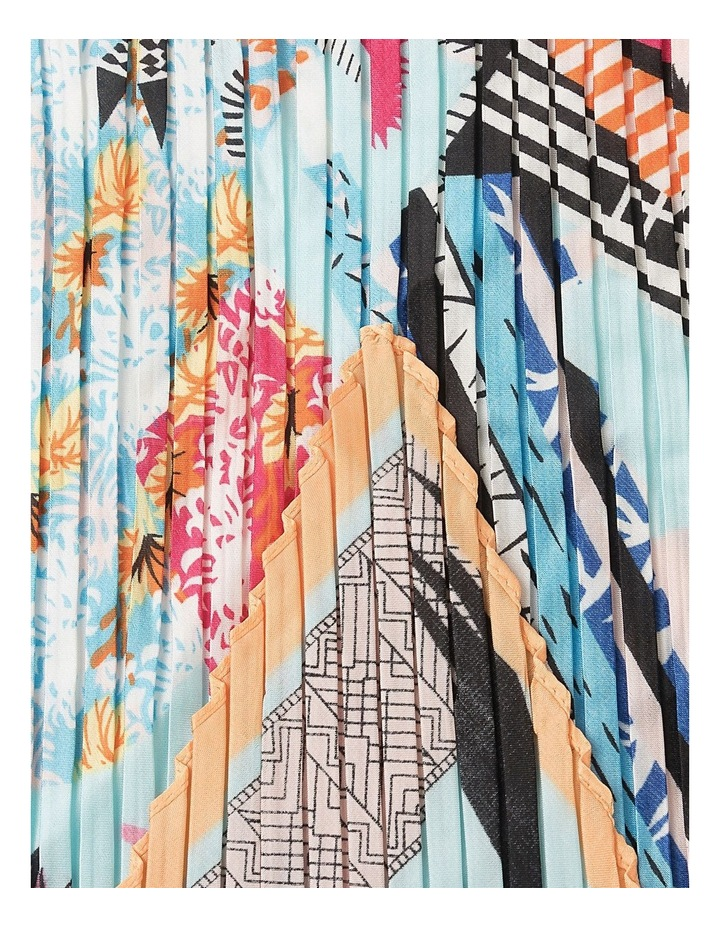 Pleated Haunted House Neckerchief Scarf image 2