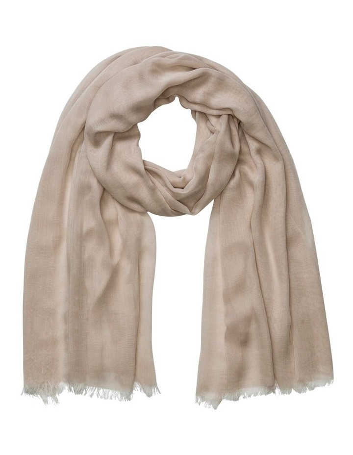 A6WS3159 Chambray Wrap Scarf image 1
