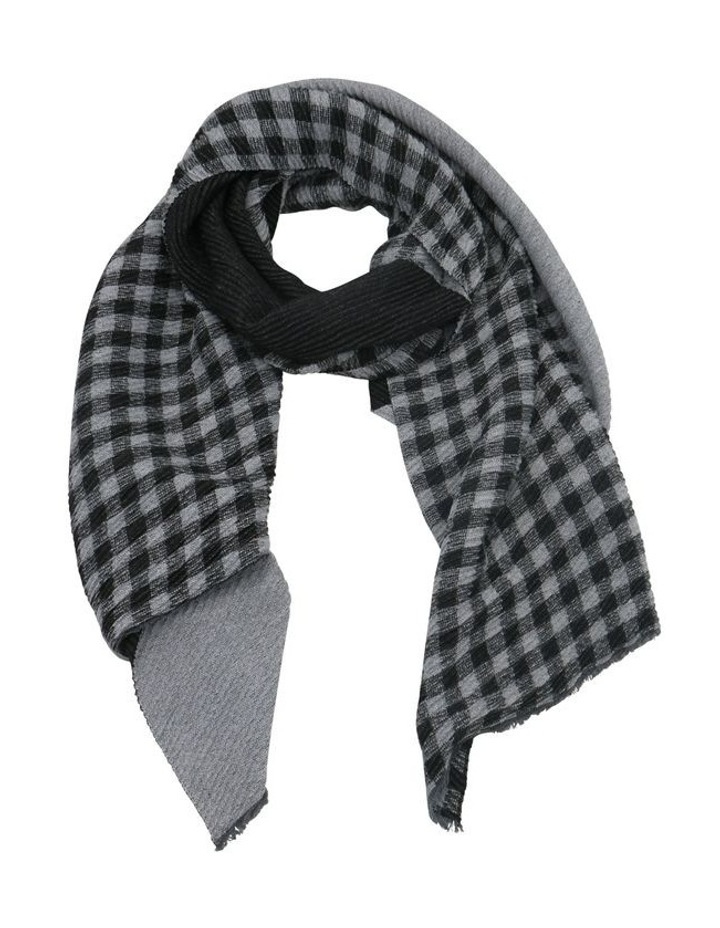 SC701 Billie Check Pleated Scarf image 1
