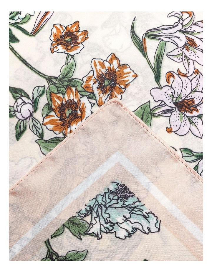 GNKQ106M Floral Neckerchief image 2