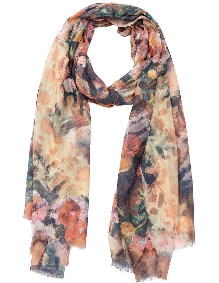 GNKQ107M Floral Scarf image 1