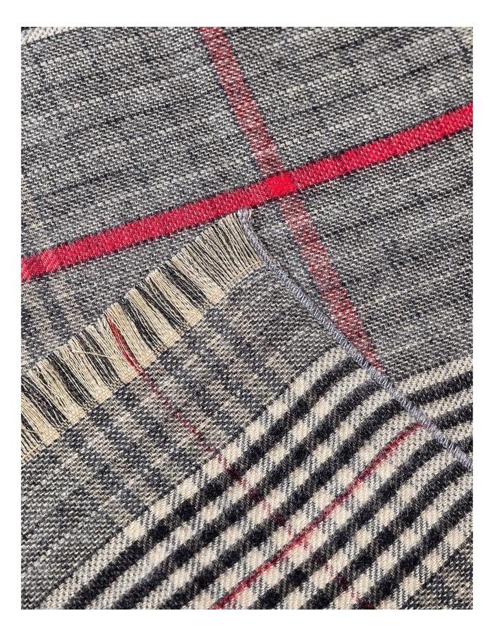 GNKQ701M Plaid Check Pashmina Scarf image 2