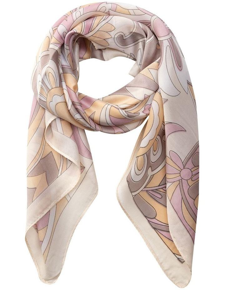 Gnks005M Tapestry Print Neckerchief Scarf image 1