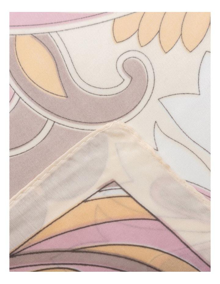 Gnks005M Tapestry Print Neckerchief Scarf image 2