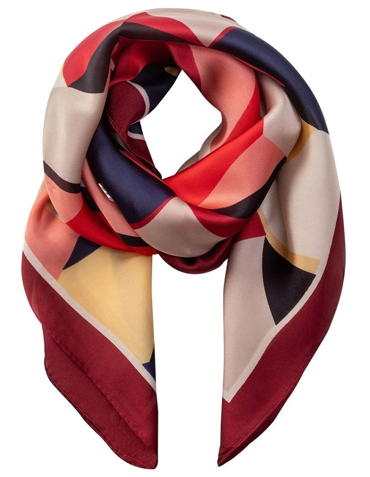 GNKS096M Bright Abstract Neckerchief Scarf image 1