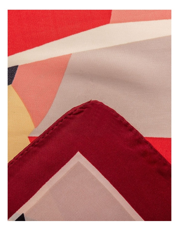 GNKS096M Bright Abstract Neckerchief Scarf image 2