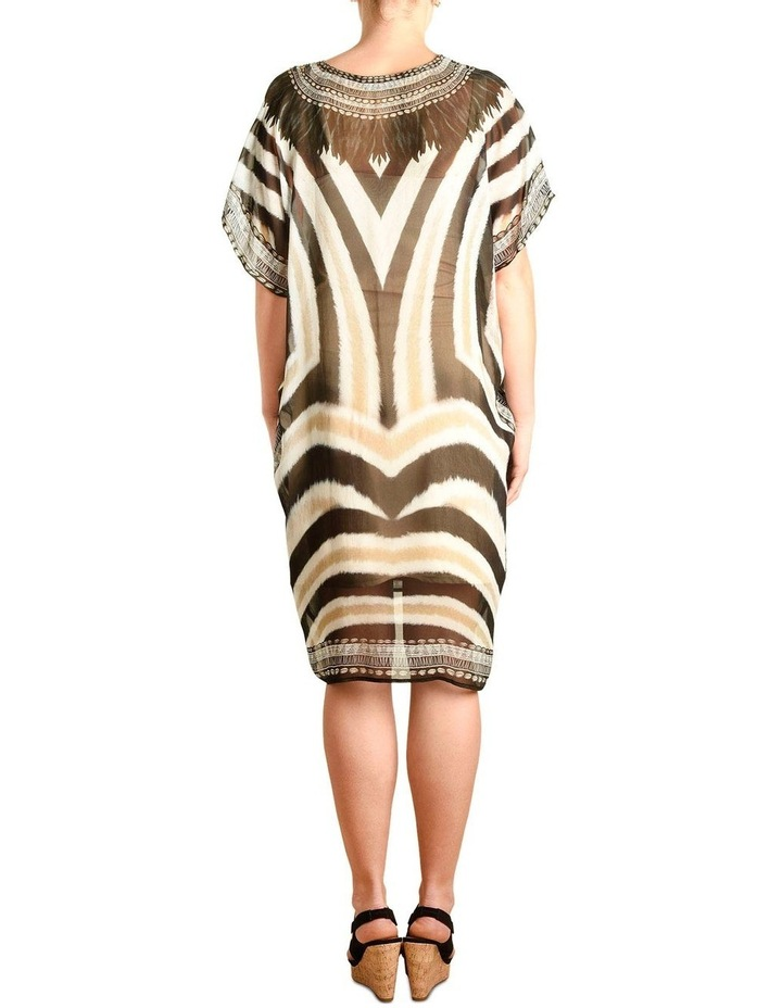 5-7853 Tribal Zebra Kaftan image 4