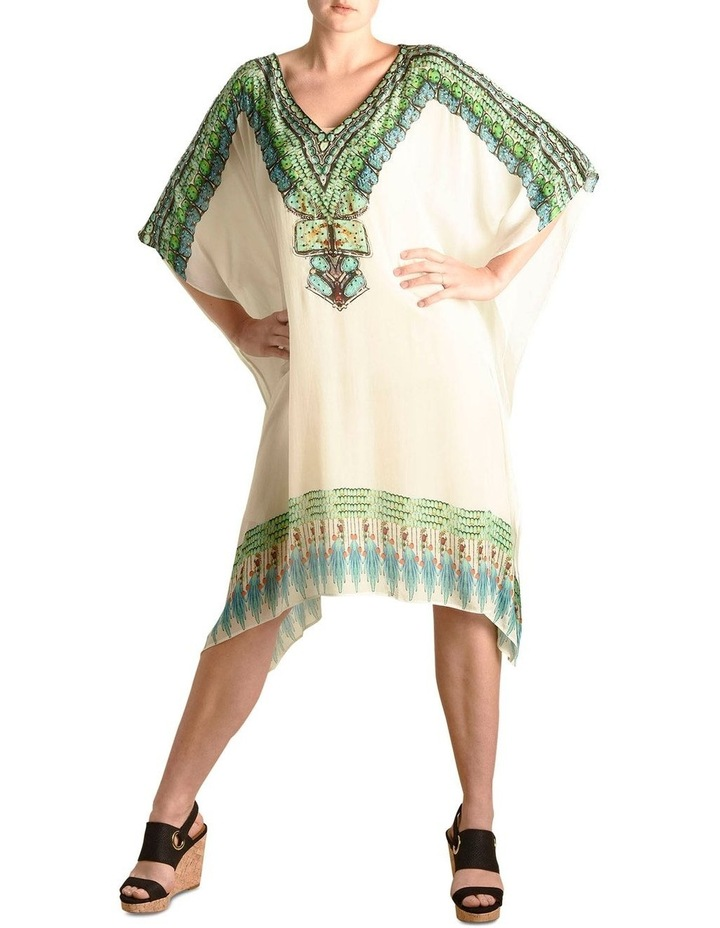 Journey to the Island (white) Kaftan image 2
