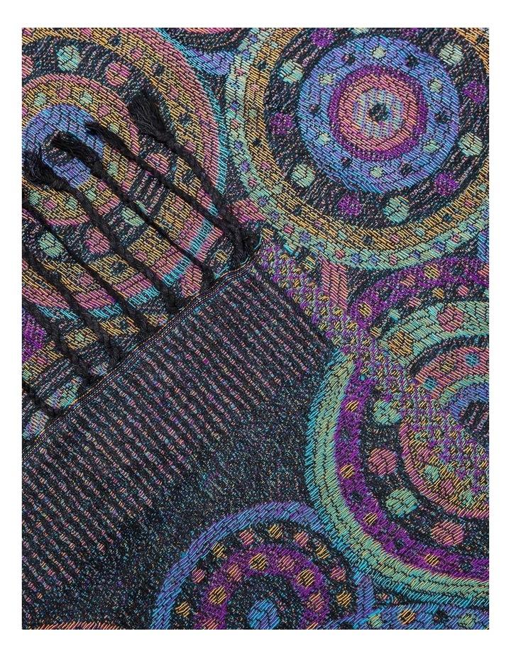 GNKQ113M Tile Print Pashmina Wrap image 2