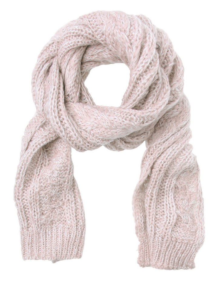Cable Knit Scarf image 1