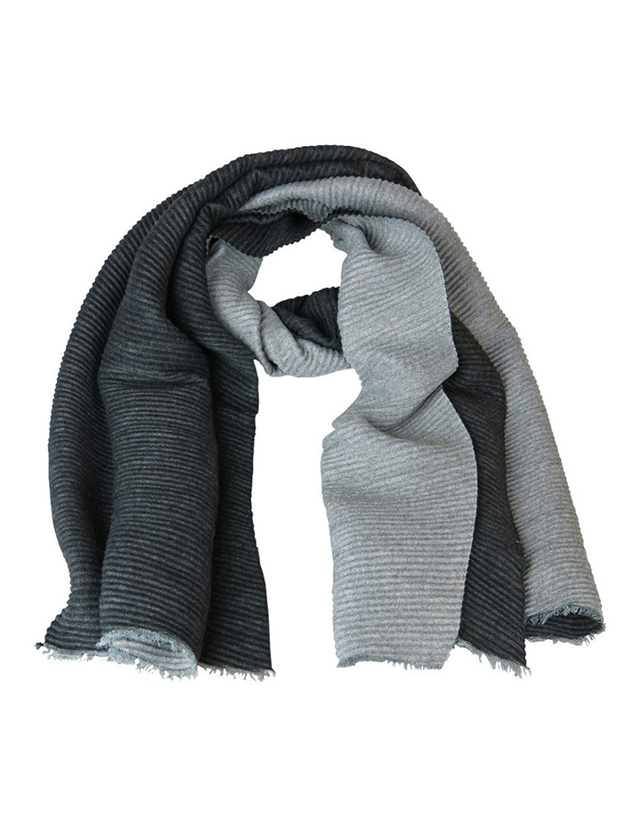 Reversible Pleated Scarf SC244 image 1