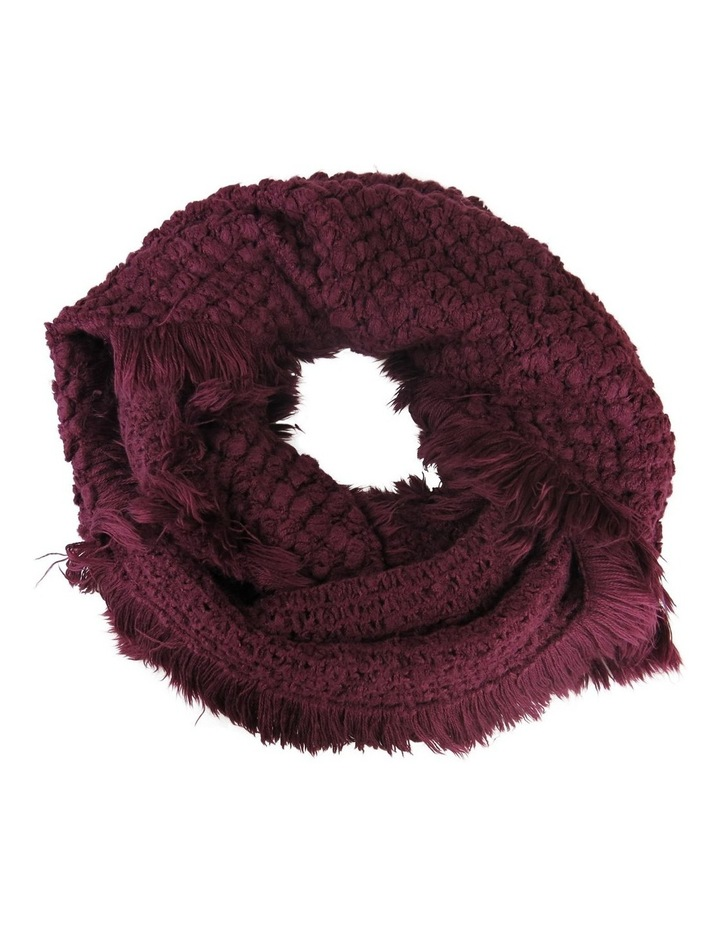 Fringed Snood Winter Scarf image 1