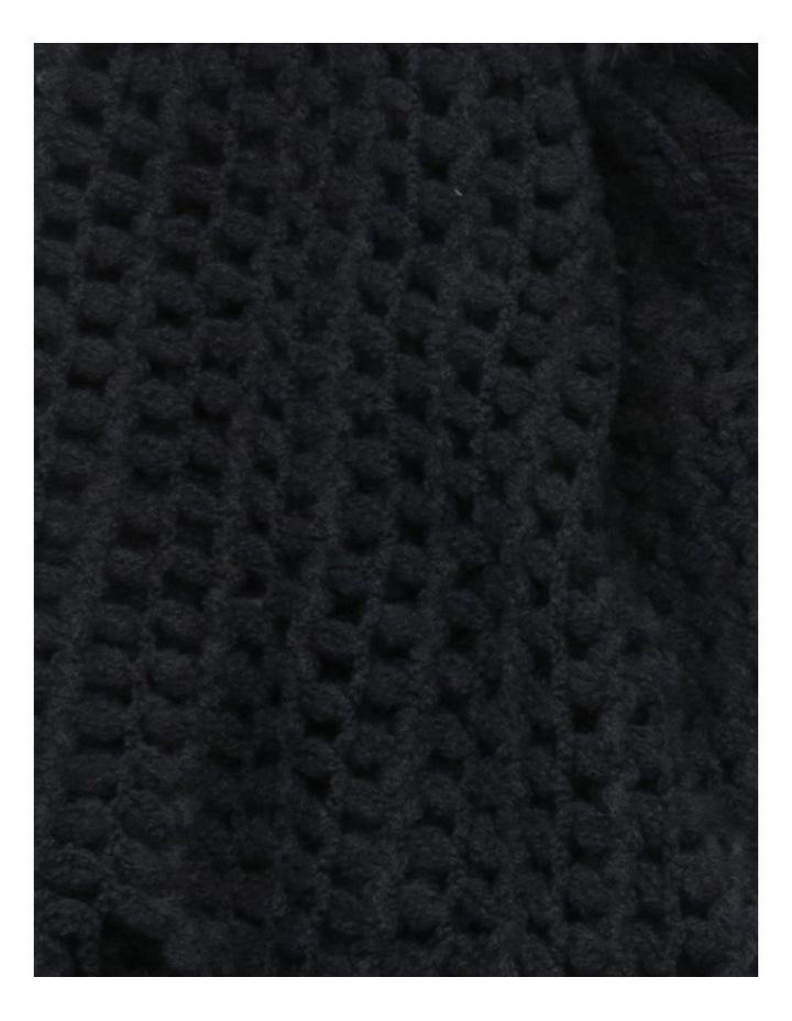 SC257 Sally Crochet Fringed Scarf image 2